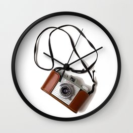 The Photographer (Color) Wall Clock