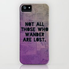 Wander Map iPhone (5, 5s) Slim Case
