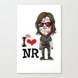 We love Norman! Canvas Print