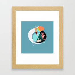 Sirenas Framed Art Print