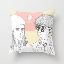"""I love you but you don't know what you're talking about"" Throw Pillow"