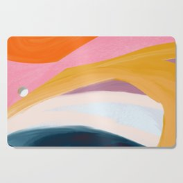Let Go - no.36 Shapes and Layers Cutting Board