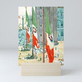 Piazza di San Marco by Maurice Prendergast Mini Art Print