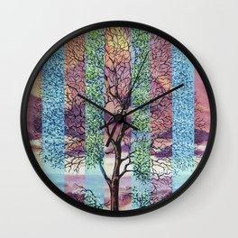 A temporary manifestation Wall Clock