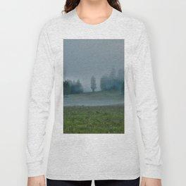 God's Pasture - Wilderness Ranch Land Long Sleeve T-shirt