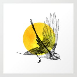 Chase the Sun Art Print