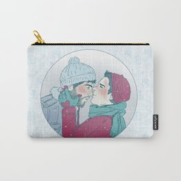 Sterek Snowy Print Carry-All Pouch
