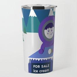 Eskimo ice cream stand Travel Mug