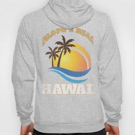 Hawaii Hulopoe Beach Vacation T-Shirt Hawaiian Islands Tee Hoody