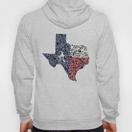 Texas - Hand Sketched Doodle Art Hoody