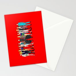 Starman on Red Stationery Cards