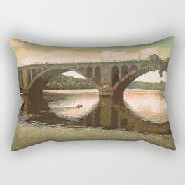 Georgetown Bridge Washington DC USA Rectangular Pillow