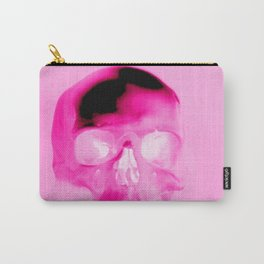 Magenta Skull Carry-All Pouch