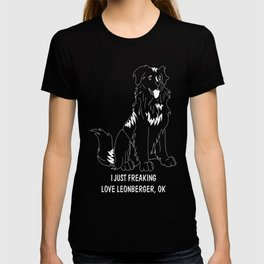 Leonberger-tshirt,-just-freaking-love-my-Leonberger T-shirt