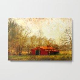Flat Fork Barn Metal Print