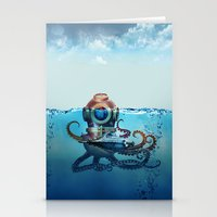 nemo Stationery Cards featuring Nemo by Tony Vazquez