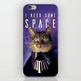 Space Cat iPhone Skin