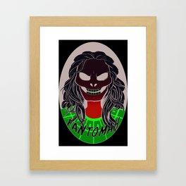 Fantomah Framed Art Print