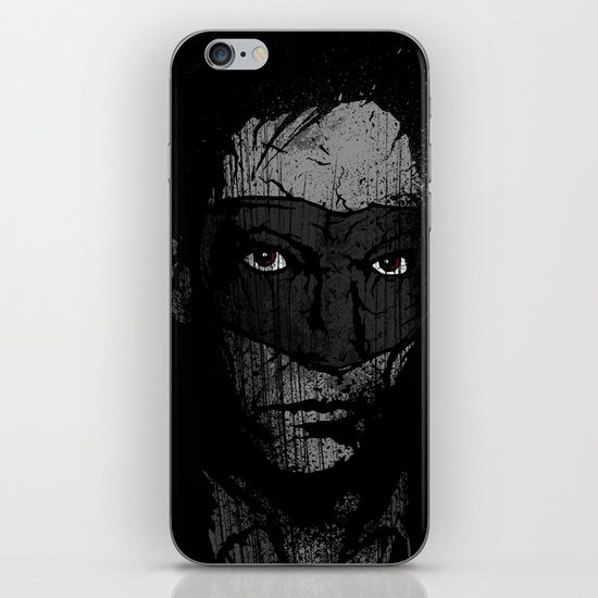 Father Hazard (Red Eyes) iPhone & iPod Skin