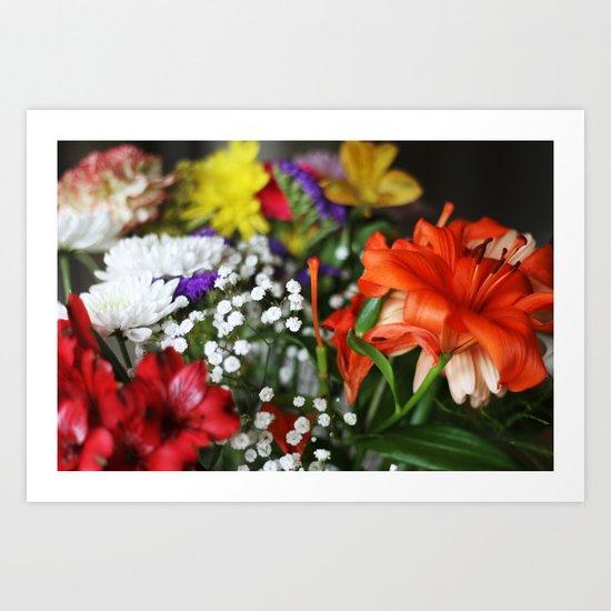 ~Flower Madness ~  Art Print