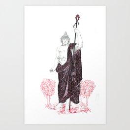 Dionysus: Bacchus of the Vine  Art Print