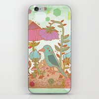 The Blue Bird iPhone & iPod Skin