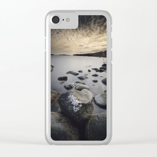 Open my eyes Clear iPhone Case