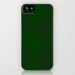 MacLean Tartan iPhone Case
