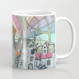 """Winter""  Illustrated print. Coffee Mug"