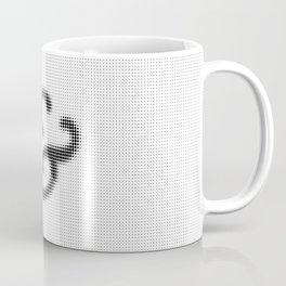 Halftone Ampersand Serif Coffee Mug