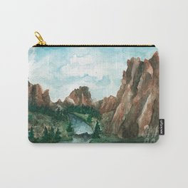 Smith Rock Oregon landscape Carry-All Pouch