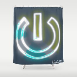 Mindful Power Shower Curtain