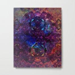 Rainbow Aura Quartz NebulÆ Metal Print