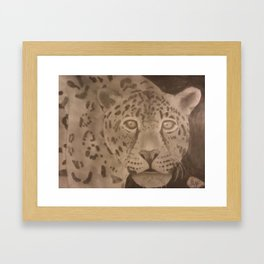 Jaggy Framed Art Print
