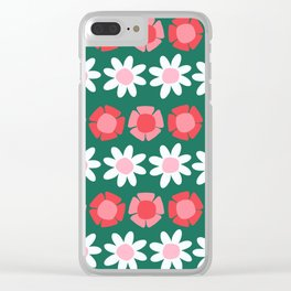 Peggy Green Clear iPhone Case