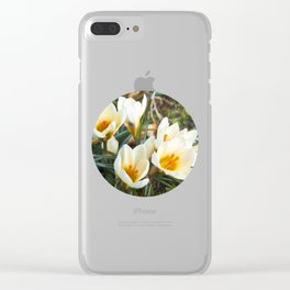 MEADOW of SPRING Clear iPhone Case