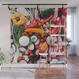 Sunday food #eclecticart Wall Mural