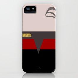 Chakotay - Minimalist Star Trek Voyager VOY - startrek Trektangle Trektangles Maquis Delta Quadrant iPhone Case