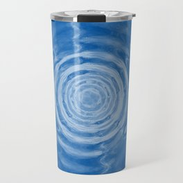Ripples_blue Travel Mug