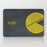 pac man iPad Cases featuring Pac-Man Typography by Kody Christian