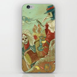 The parade iPhone Skin