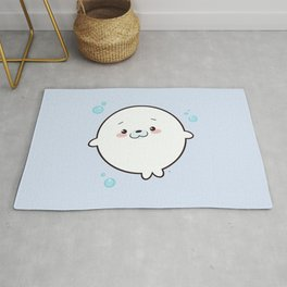 Baby Seal Kawaii Rug