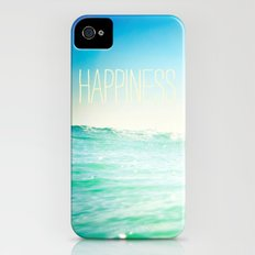 beachy happiness iPhone (4, 4s) Slim Case