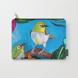 Tropical Tweets Carry-All Pouch