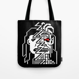Teletext Monster Girl Tote Bag