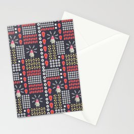 Windmills, fruits and flowers Stationery Cards