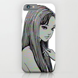 PRETTY GIRL 2 - SAD JAPANESE ANIME AESTHETIC iPhone Case