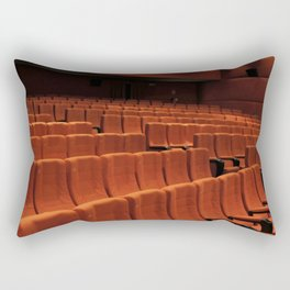 Cinema theater stage seats Rectangular Pillow