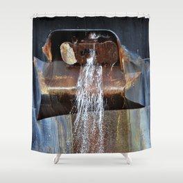 Freighter Anchor Chock Shower Curtain
