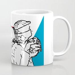 Nauti & Kiss (Kissing the War Goodbye) Coffee Mug